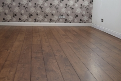 Chestnut earth stain on oak floor
